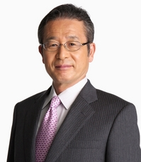 作家 江上 剛 氏